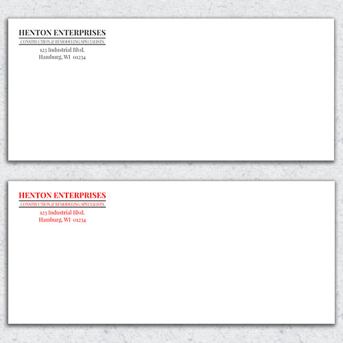 Free Envelope Template 9