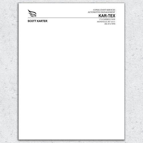 Free Printable Letterhead: Free Letterhead Template 8