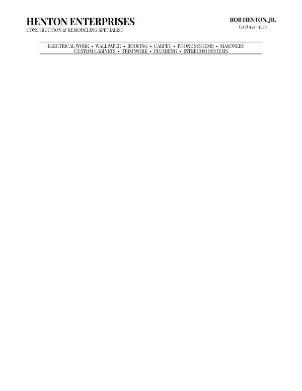 Free letterhead template 9 spiritdancerdesigns Gallery